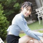 元AKB48で、ピアニストの松井咲子、「妄想たっぷりな」初写真集